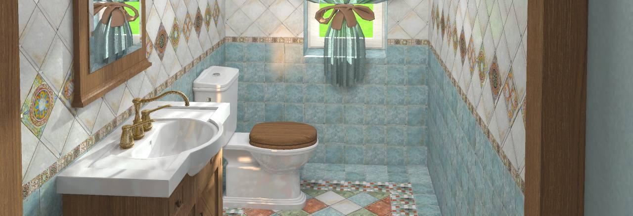 Дизайн ванной - Неоклассика