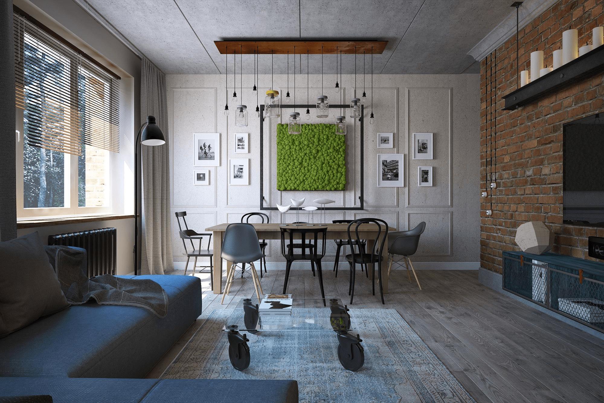 Дизайн домов - Лофт